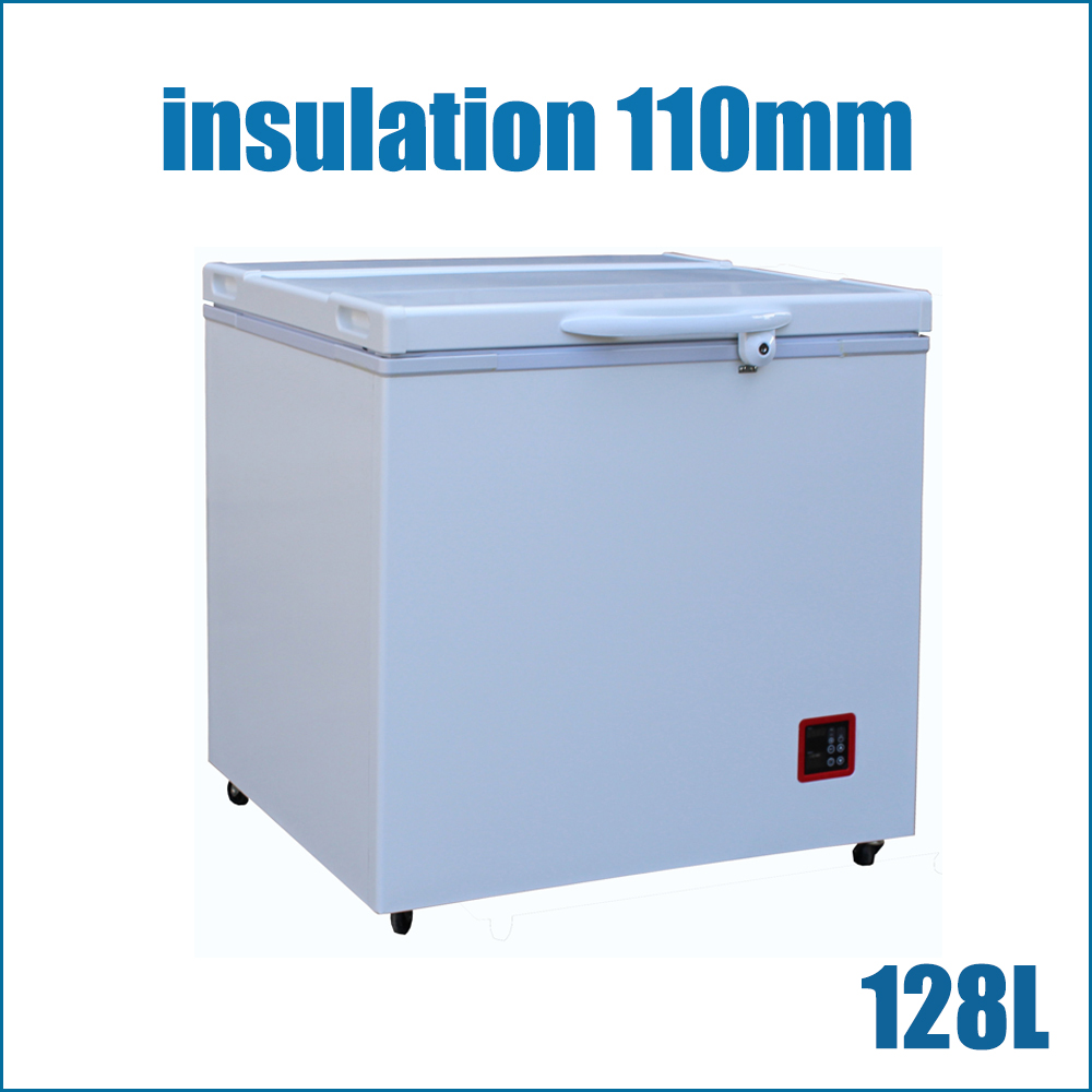 Ultra Energy Efficient Solar (Battery) Powered Freezer(BR128F)